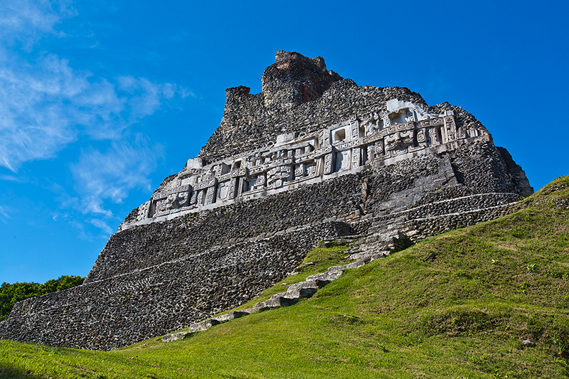 Xunantunich Belice Maya