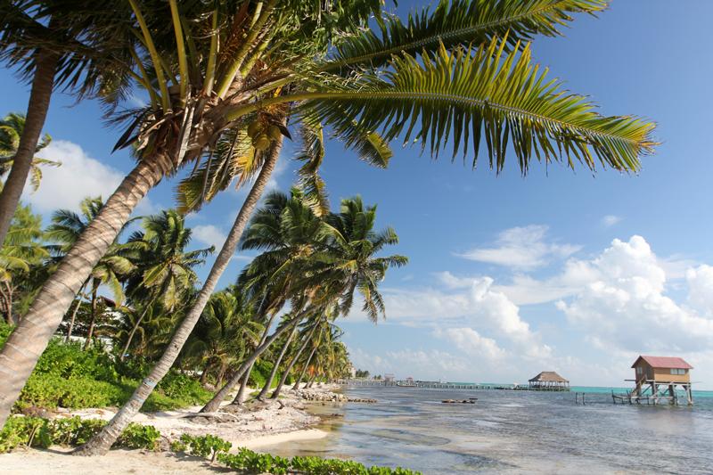 Isla de San Pedro Belice