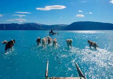 cambio climático en Groenlandia