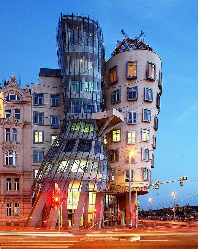 Edificio La Casa Danzante