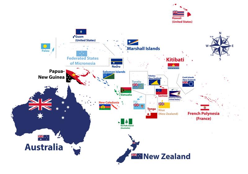 Kiribati Australia Oceanía