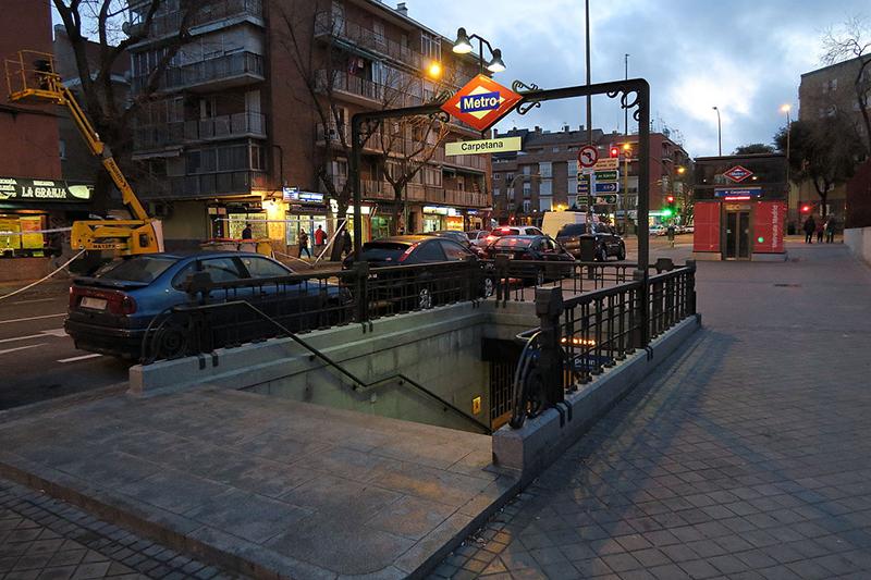 Metro de Madrid España