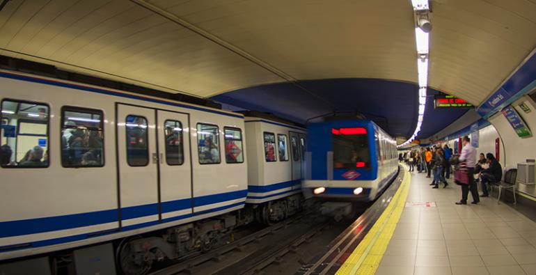 Metro de Madrid España Yacimiento