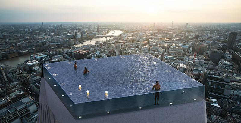 Londres Tendra La Primera Piscina Infinita Con Vista De 360 Grados