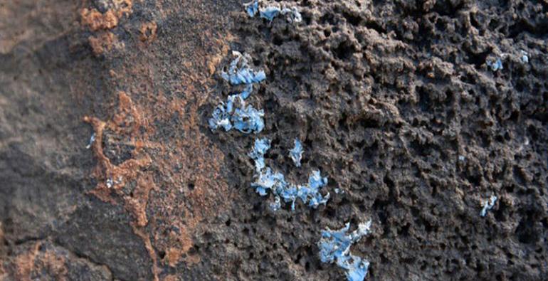 Portugal rocas plástico incrustado