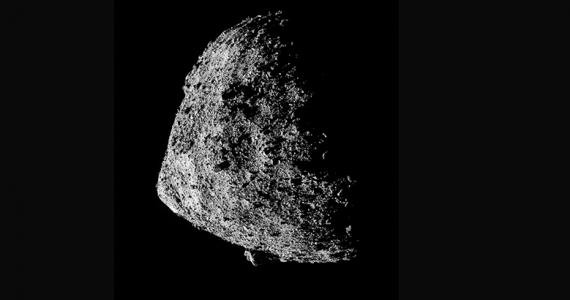 superficie del asteroide Bennu