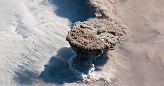 volcán Raikoke