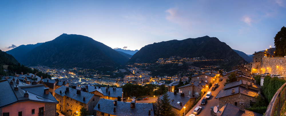 capital de Europa de mayor altitud Andorra la Vieja