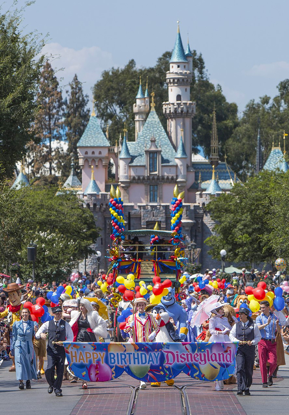 aniversario Disneyland Park