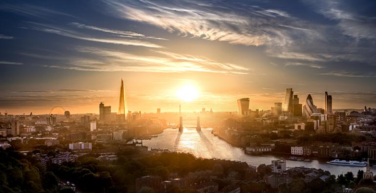Londres Europa Ola de calor