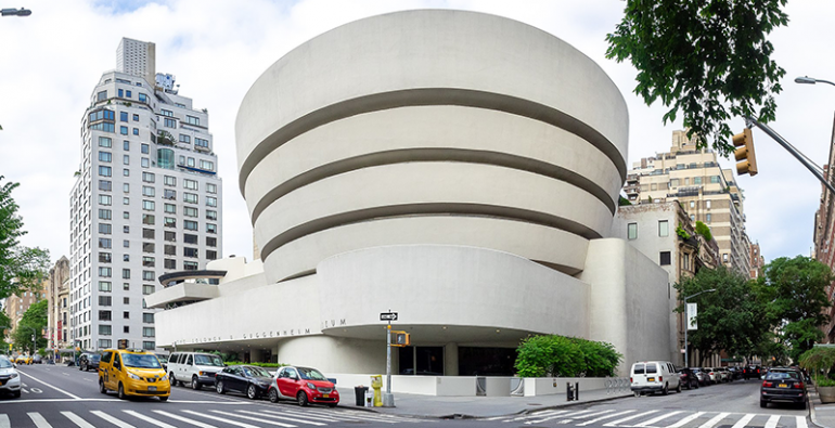 Frank Lloyd Wright Museo Guggenheim de Nueva York