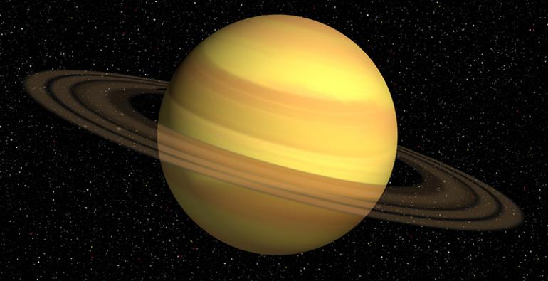 Saturno Anillos Julio