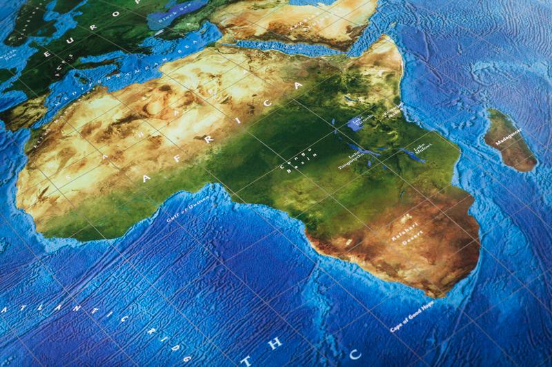 África población continente