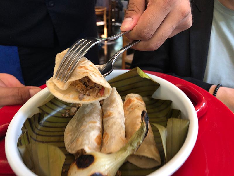 tacos tortilla de harina