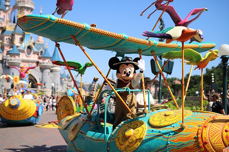 Mickey Mouse Disneyland París