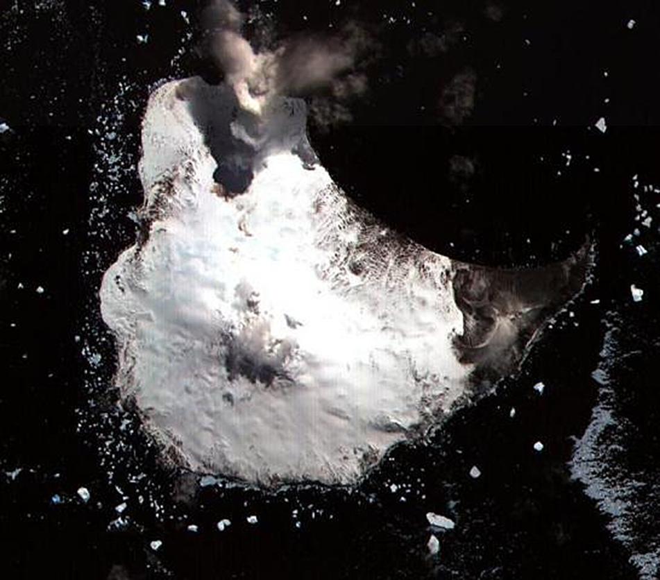 Monte Miguel océano antártico