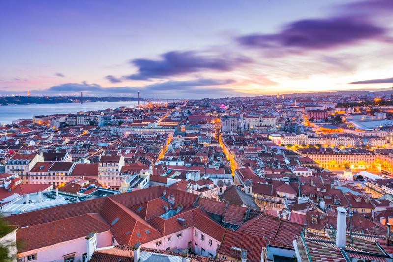 Recorrer Europa Lisboa Portugal