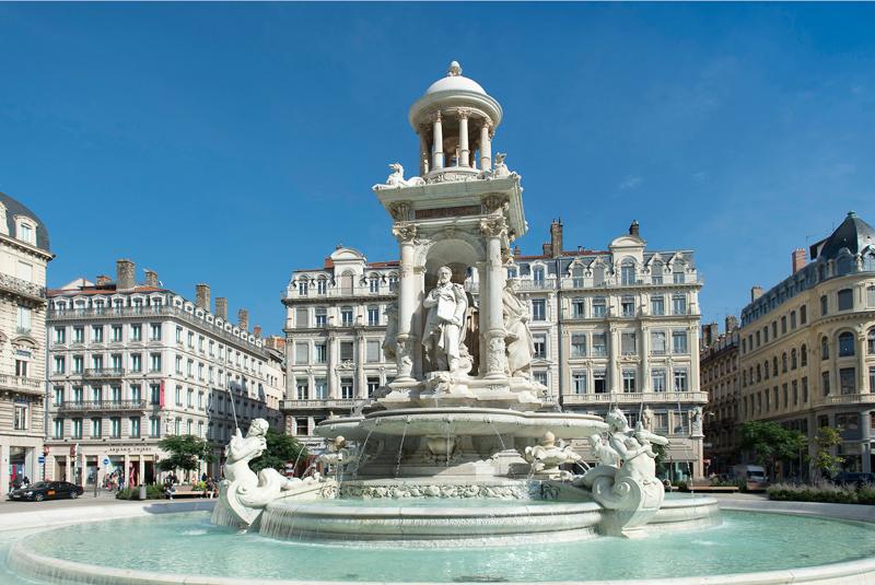 Lyon recorrer Europa Francia