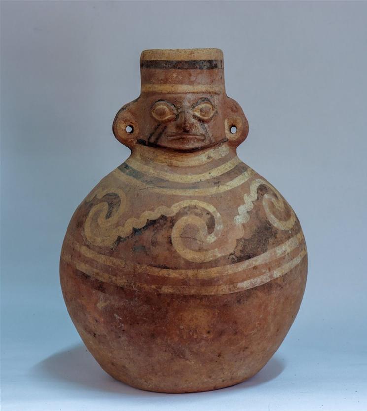 Mochica Perú cámara funeraria