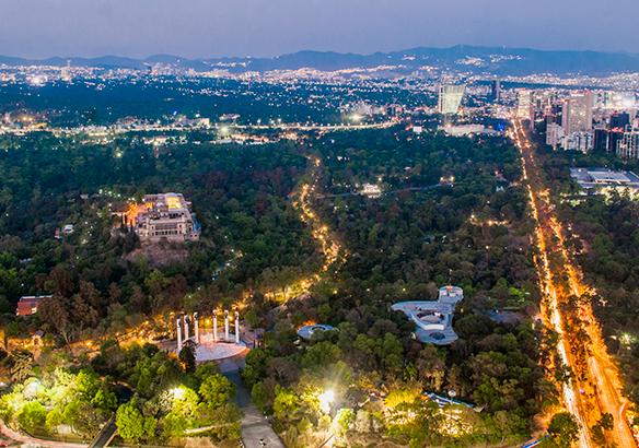 Bosque de Chapultepec Parque Urbano