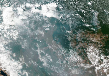 NASA Amazona Brasil incendios forestales
