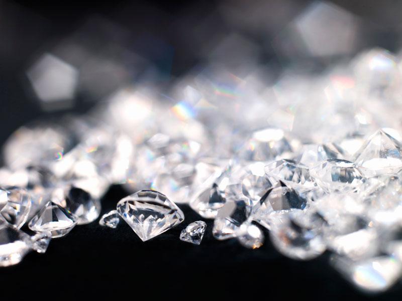 depósito de Diamantes América Latina