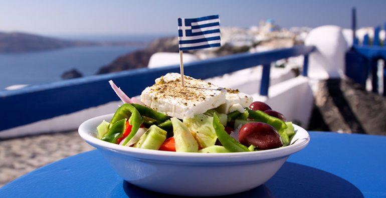 ensalada gastronomía griega