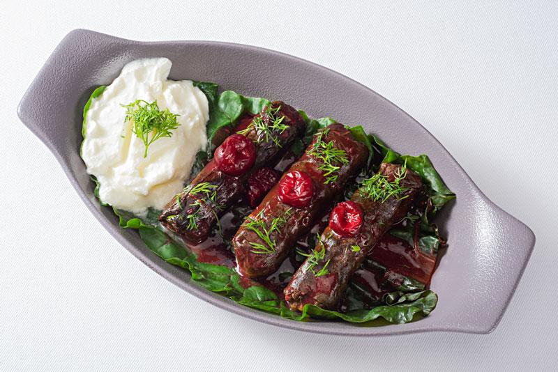 gastronomía griega dolmades