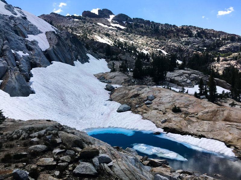 Yosemite nieve sandía