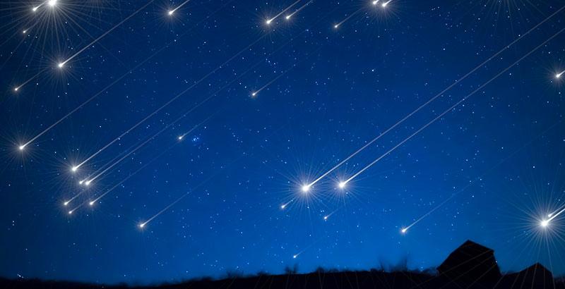 las Perseidas agosto lluvia de estrellas Dracónidas