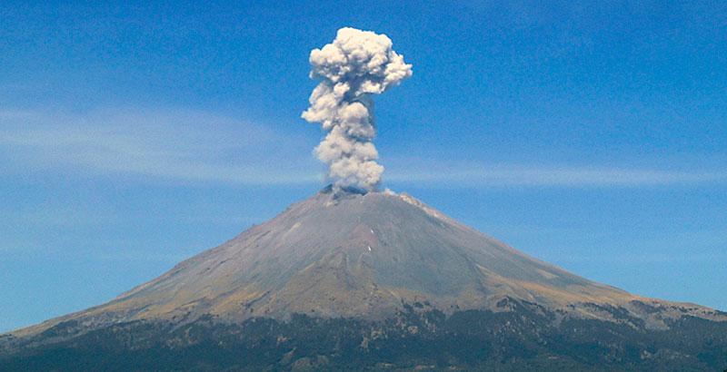 alpinistas Popocatépetl