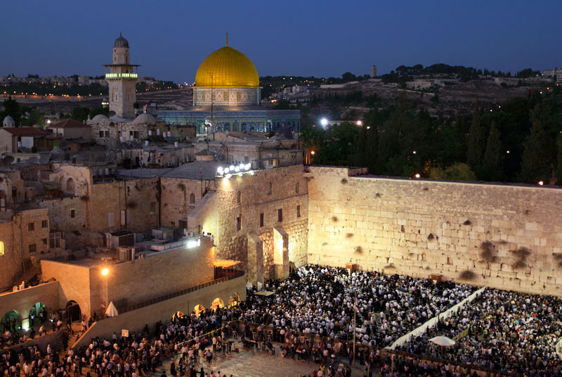 Israel Año Nuevo judío Jersualén
