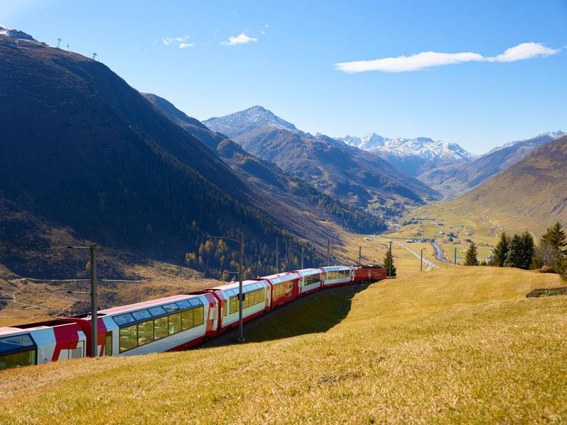 Glacier Express tren