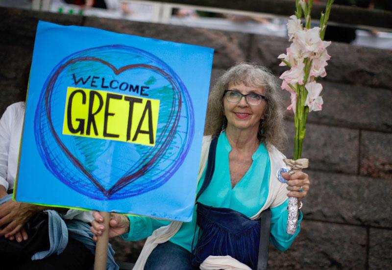 Greta Thunberg Estados Unidos