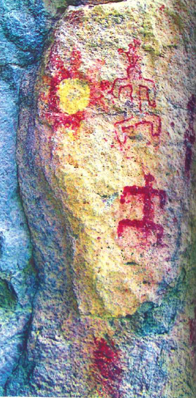 arte rupestre de Guanajuato