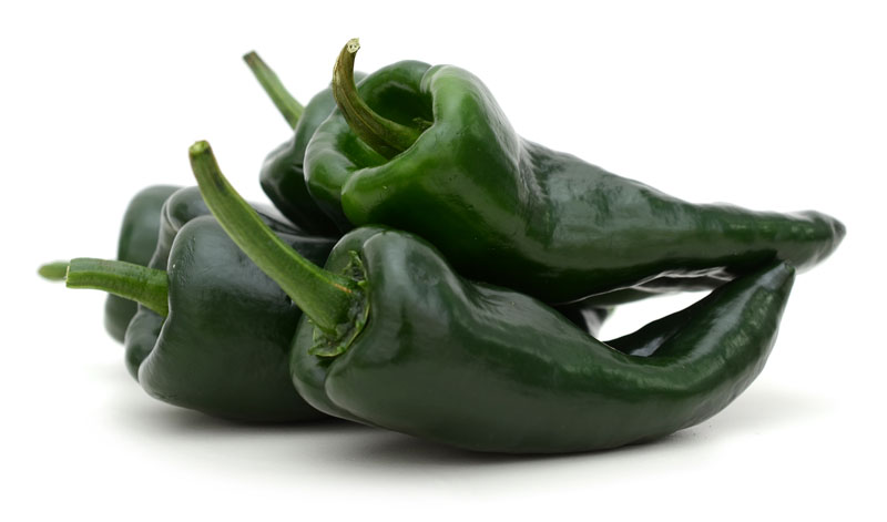 chile poblano ingredientes tradicionales mexicanos