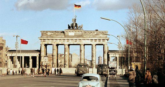 Muro de Berlín Cortina de Hierro