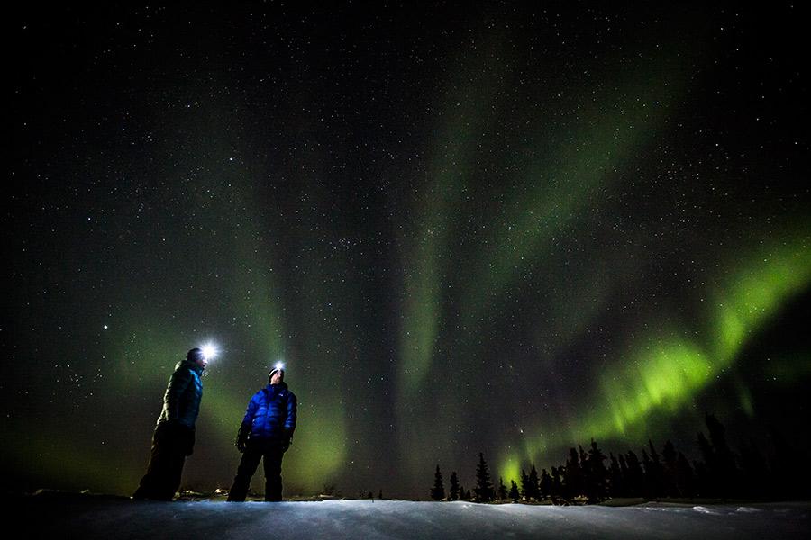 auroras boreales Yukón