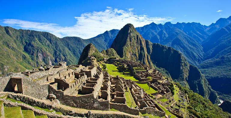 Machu Picchu Roca sagrada