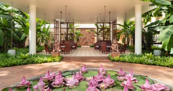 mansión colonial hotel Camboya