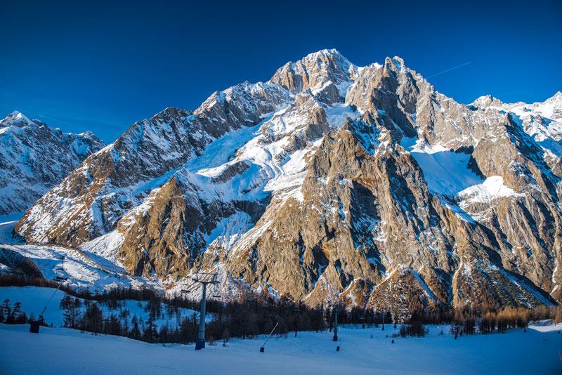 Mont Blanc glaciar Planpincieux
