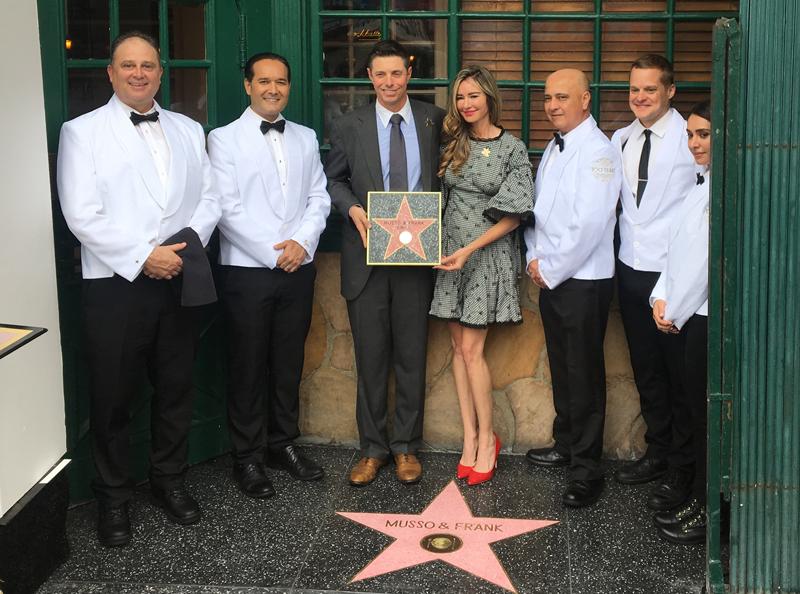 Hollywood restaurante estrella
