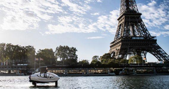 taxis acuáticos París Rio Sena