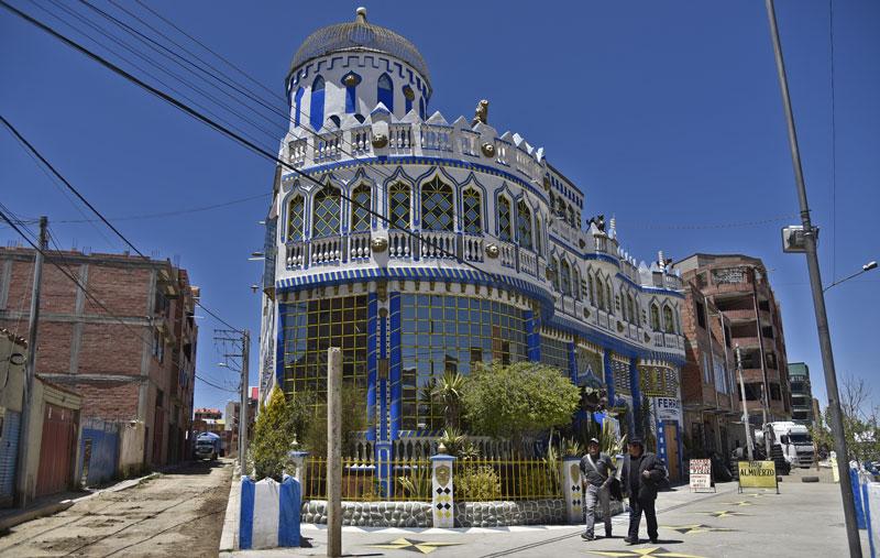 ciudad más joven de Bolivia El Alto Neverlan