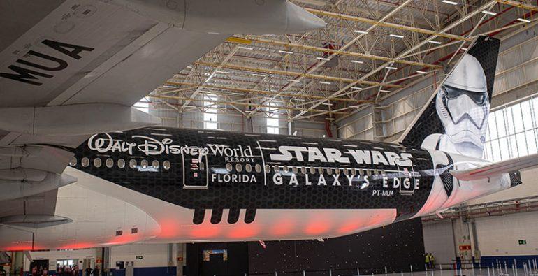 Stormtrooper Plane avión Star Wars