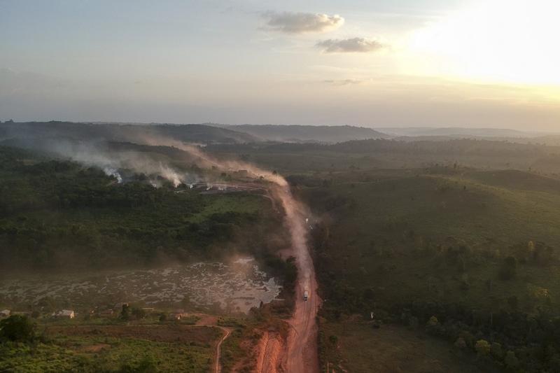 Amazonía niños incendio