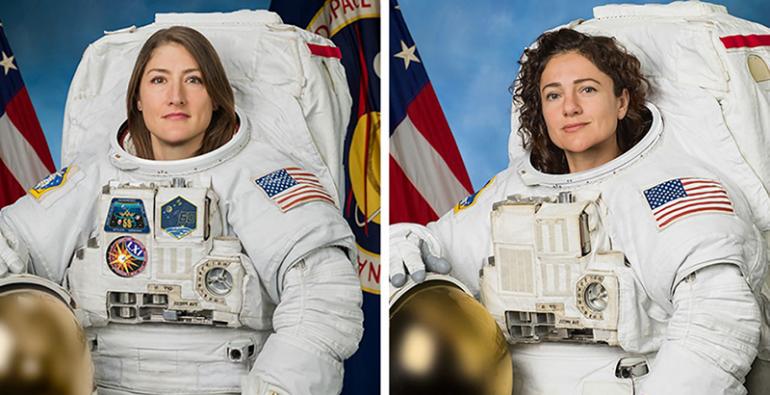 caminata espacial mujeres