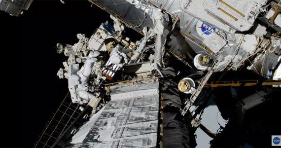 primera caminata espacial histórica mujeres