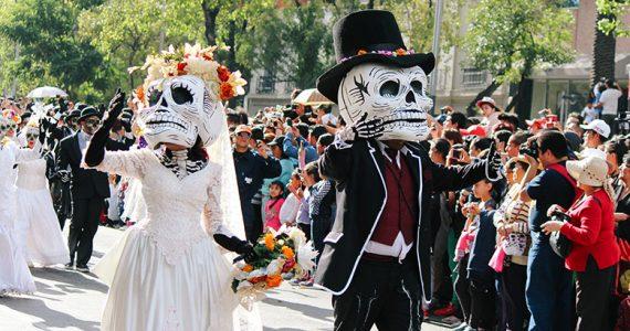 Desfile Intrnacional de Día de Muertos