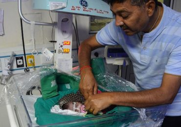 recién nacida India